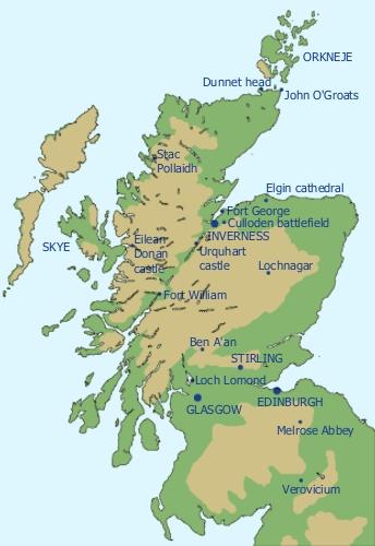Skotsko Fotogalerie